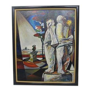 Original Giorgio Luppi Signed Oil Painting