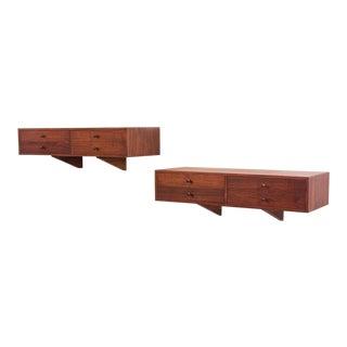 Scandinavian Modern Floating Shelves
