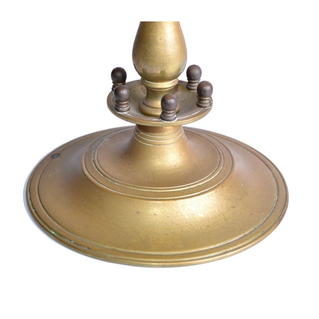 7-Branch Brass Menorah - Image 7 of 8