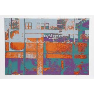 """1980 Max Epstein """"Whitney"""" Print"""