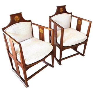 Art Nouveau Chairs - A Pair
