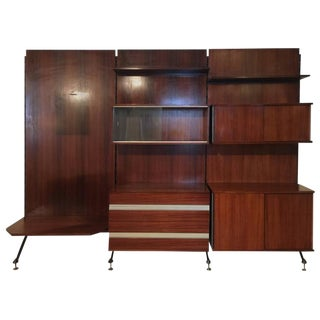 Urio Three-Section Bookcase by Ico Parisi for MIM, Roma