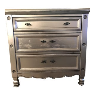 Vintage Silver Chest of Drawers