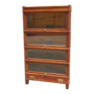 Vintage Globe Wernicke Co. Lawyers Barrister Bookcase