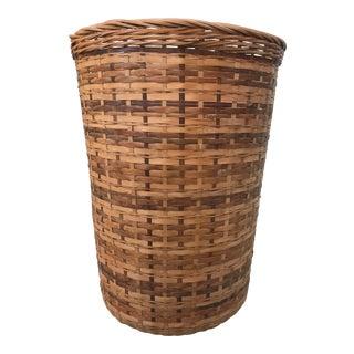 Tall Rattan Basket