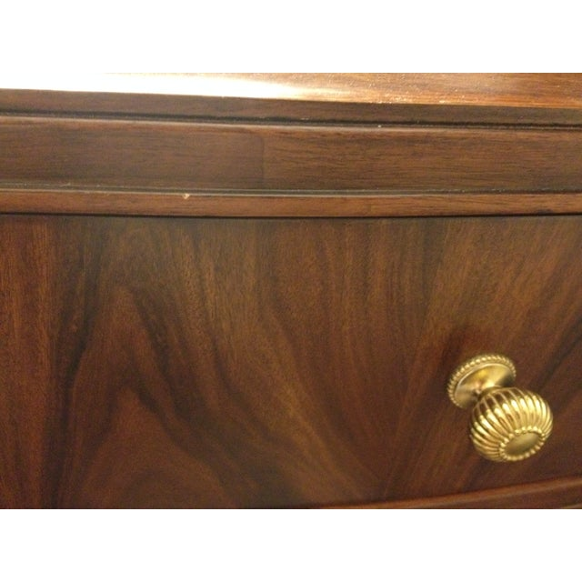 Bob Mackie Signature Bowed Rosewood Nightstand - Image 9 of 9