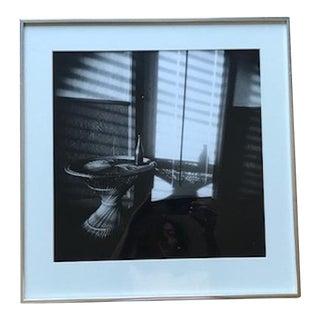 Vintage Cuban Shadowed Vignette Black & White Photograph