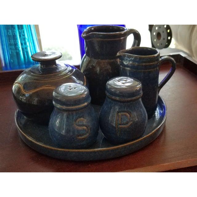 Saint Amand en Puisaye Les Bleus Condiment Set - Image 11 of 11
