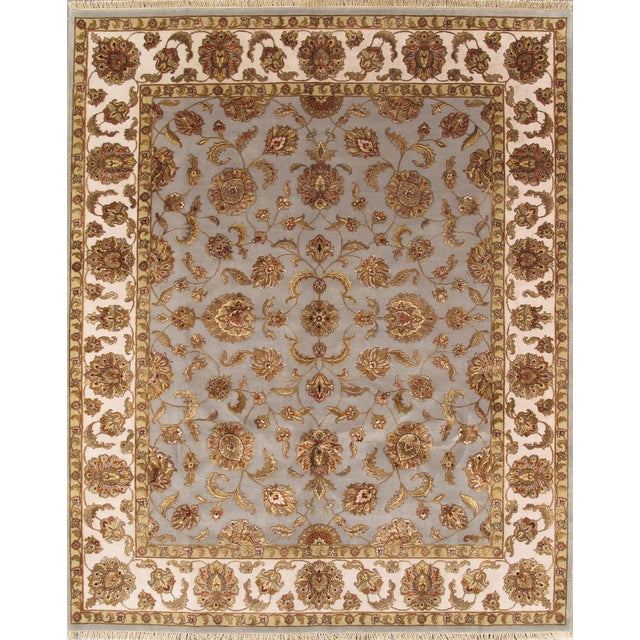 """Pasargad Agra Collection Rug - 8' X 9'10"""" - Image 3 of 3"""