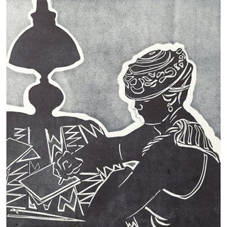 """""""The Lamp Is Lit"""" Print"""