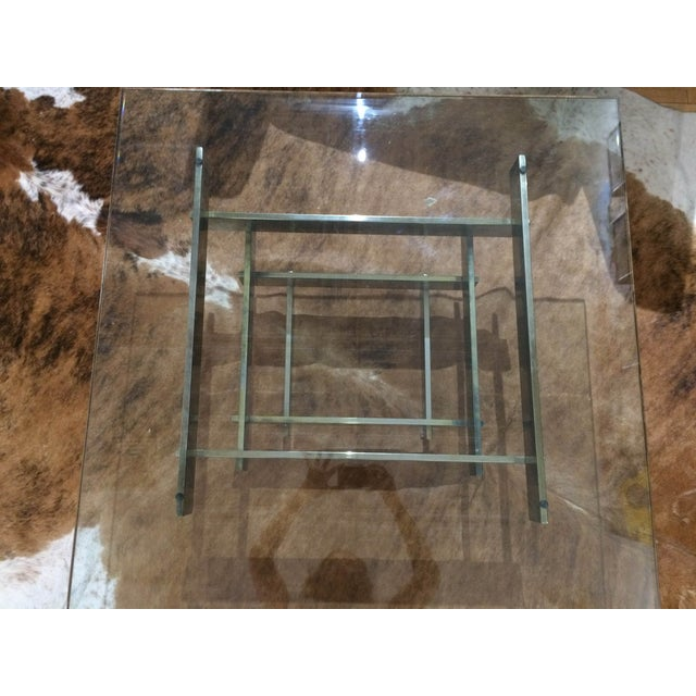 Paul Mayen Brass Stacked Coffee Table - Image 5 of 9