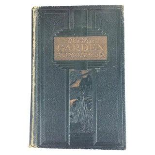 Vintage Green Gardening Book