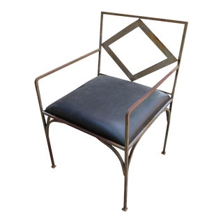 1970 Set of Four Iron Outdoor Chairs