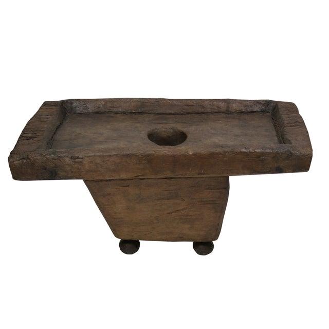 Unique Tribal Naga Coffee Table - Image 1 of 2