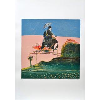 Luigi Rincicotti, I Dodici Mesi, March Lithograph