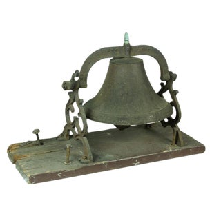 Large New England Bell with Mounting Base