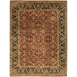 """Traditional Hand Woven Indian Rug - 9'2"""" X 11'11"""""""