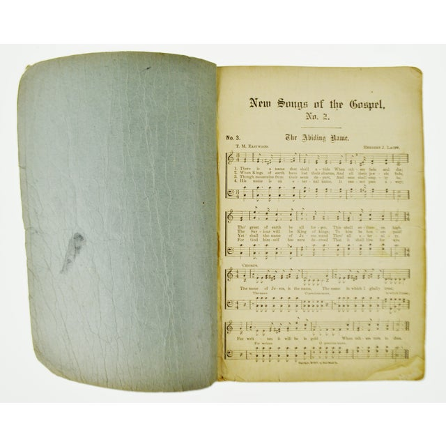 "1905 Antique ""New Songs of the Gospel No. 2"" Book - Image 6 of 9"