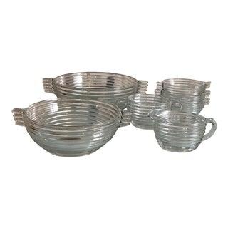 Anchor Hocking Manhattan Glassware Serving Set