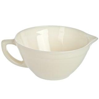 Vintage Fire King Milk Glass Batter Bowl
