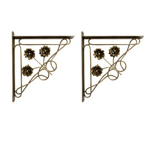 Wall Mounted Bracket Set - A Pair