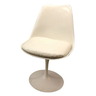 White Burke Style Tulip Chair