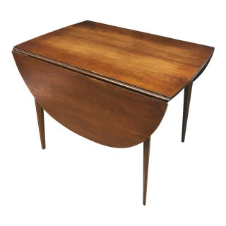 Mid Century Modern Broyhill Brasilia Drop-Leaf Dining Table