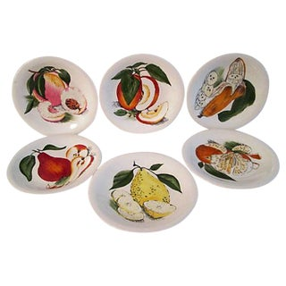English Sun-Kissed Luncheon Plates- Set of 6