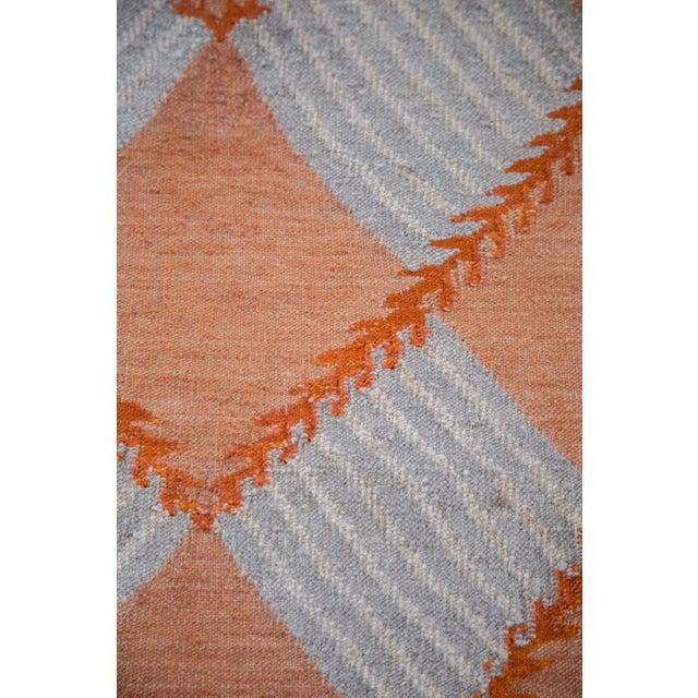 """Hand Woven Diamond Kilim Rug - 4'1"""" x 6' - Image 5 of 6"""