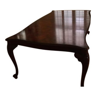 Hickory White British Club Table