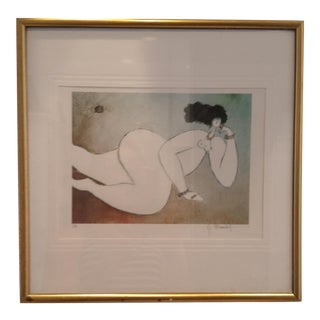 Watercolor Nude by M. Boulet
