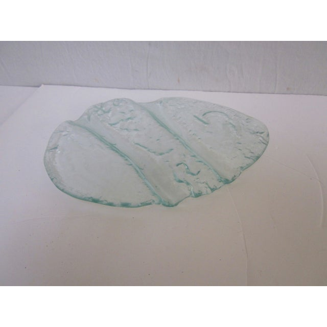 Modernist Art Glass Platter Tray Plate Dish - Image 2 of 5