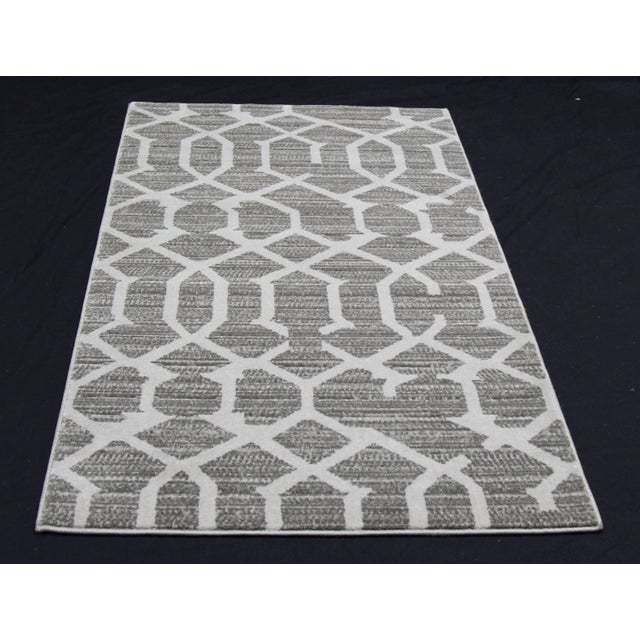 Gray Lattice Small Mat- 2′8″ × 5′ - Image 3 of 3