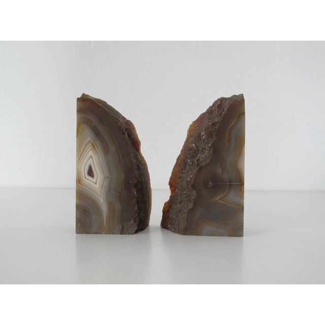 Geode slice bookends a pair chairish - Geode bookends ...