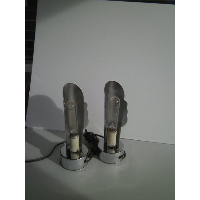 Masque Lamps by Helen Dryden for Revere - A Pair - Image 4 of 7