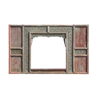 Antique Java Door Panel