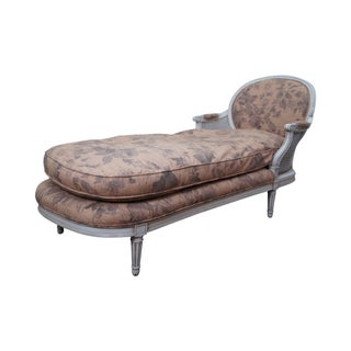 Quality French Louis XVI Style Chaise Lounge