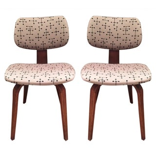 Vintage Mid-Century Thonet Chairs - A Pair