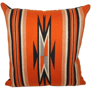 Fantastic Chimayo Weaving Pillow