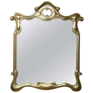 Tony Duquette Style Gilt Surrealist Mirror