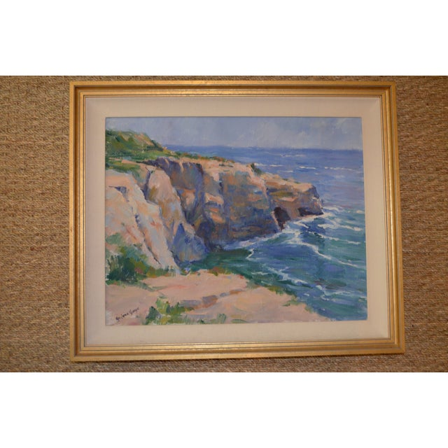 La Jolla Oil Painting - Image 3 of 4