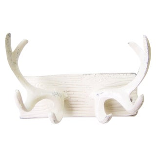 Metal Faux Antler Coat Hook