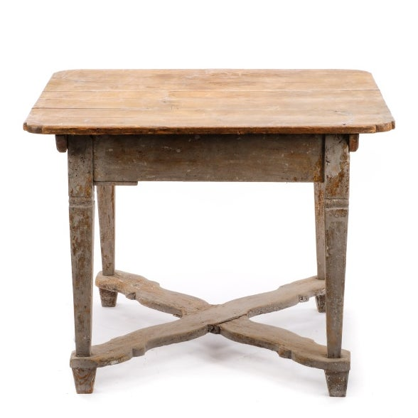 Image of 18th Century Gustavian Farm Table