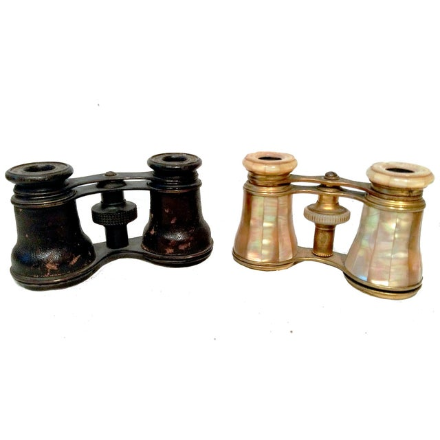 """Antique """"His & Hers"""" Opera Glasses - A Pair - Image 1 of 8"""