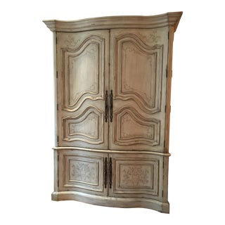 French Style Entertainment Armoire