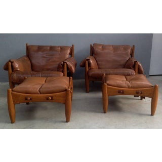 """Sergio Rodrigues """"Sheriff"""" Armchairs - A Pair"""