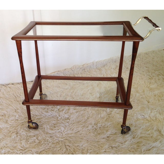 Ico Parisi Mid Century Bar Cart - Image 3 of 9