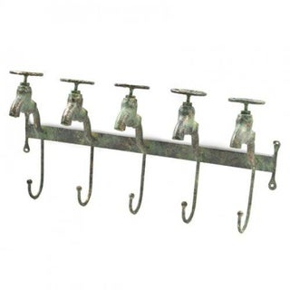 Five Hook Water Faucet Coat Hanger