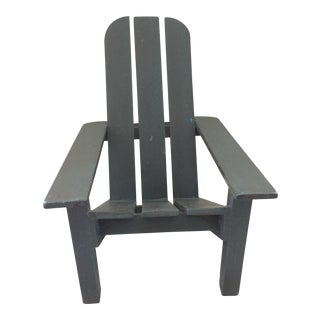 Doll Size Adirondack Chair