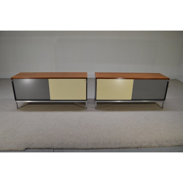 Art Metal for Knoll Int. Mid-Century Office Cabinets - A Pair - Image 2 of 10